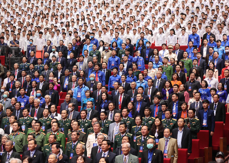 组图:胡志明共青团成立90周年纪念典礼隆重举行 hinh anh 6