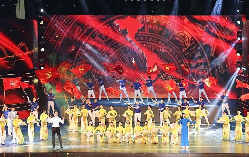 组图:胡志明共青团成立90周年纪念典礼隆重举行 hinh anh 9