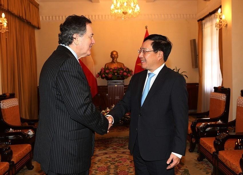 组图:越南智利建交50周年:全面伙伴关系日益向前迈进 hinh anh 2
