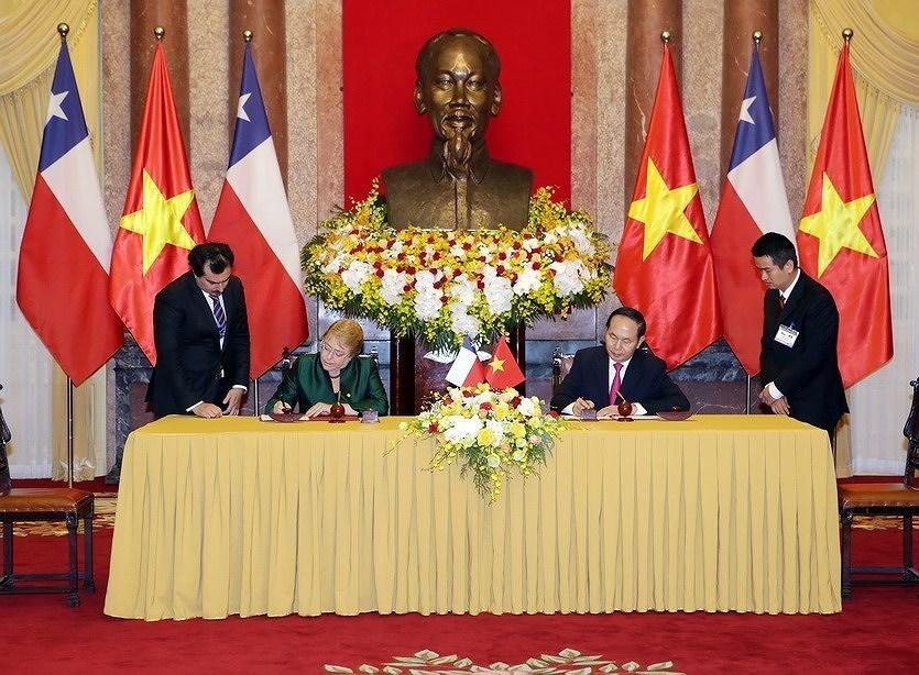 组图:越南智利建交50周年:全面伙伴关系日益向前迈进 hinh anh 3