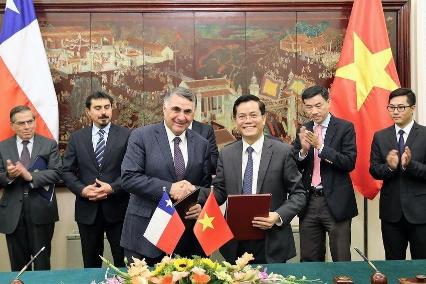 组图:越南智利建交50周年:全面伙伴关系日益向前迈进 hinh anh 5