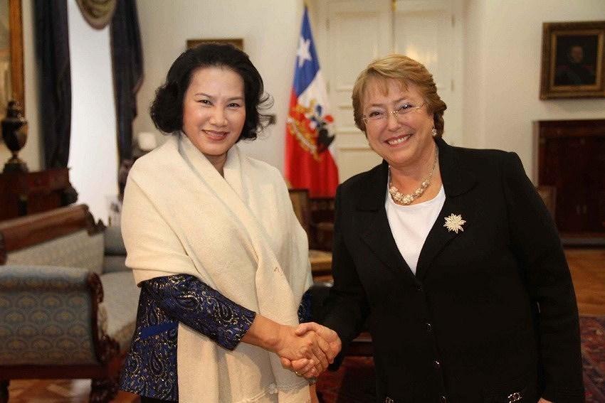 组图:越南智利建交50周年:全面伙伴关系日益向前迈进 hinh anh 6