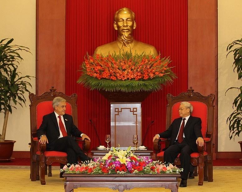 组图:越南智利建交50周年:全面伙伴关系日益向前迈进 hinh anh 7