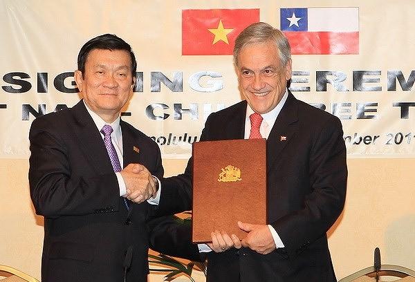 组图:越南智利建交50周年:全面伙伴关系日益向前迈进 hinh anh 8