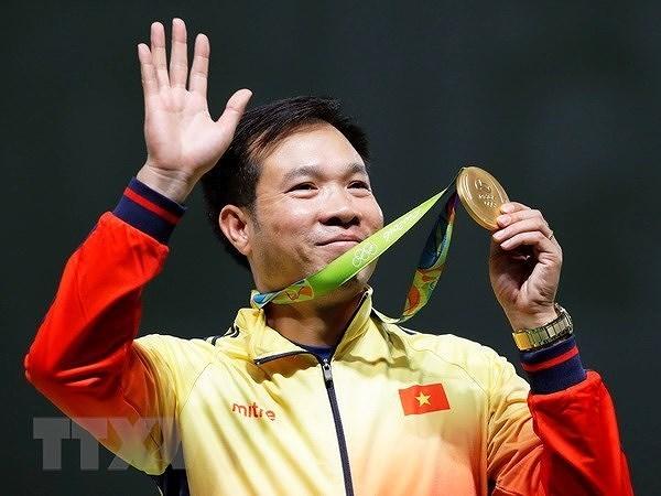 组图:越南体育70周年:为建设越南体育强国多作贡献的运动员 hinh anh 5