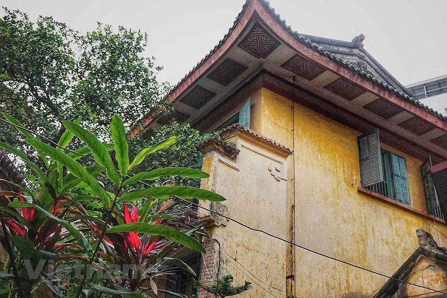 组图:河内市中心建筑独特的保大别墅 hinh anh 1