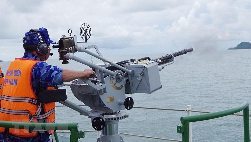 组图:海警第一区举行海上训练 hinh anh 4