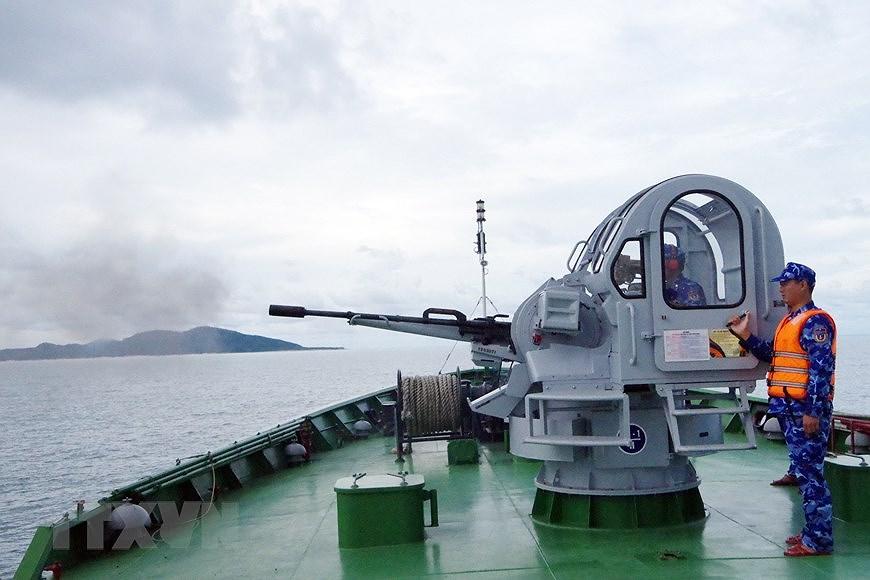 组图:海警第一区举行海上训练 hinh anh 5