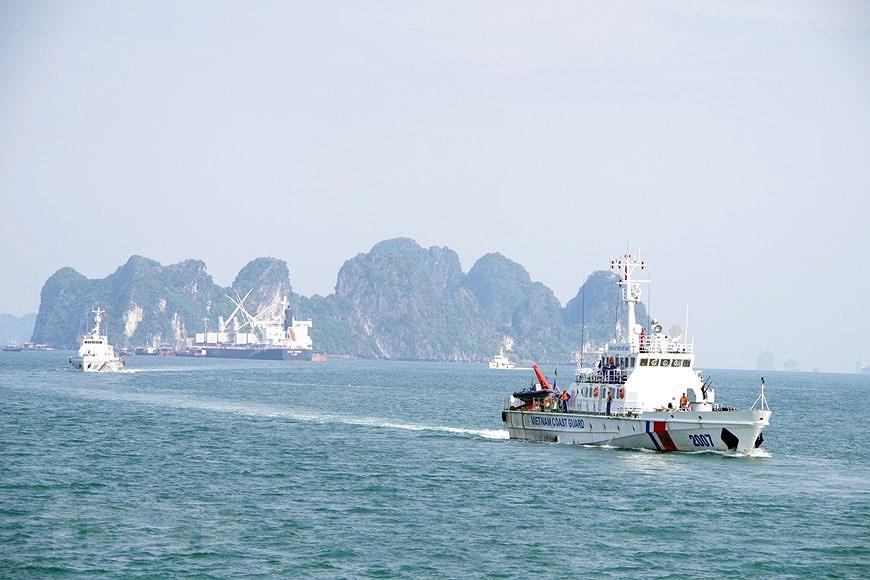 组图:海警第一区举行海上训练 hinh anh 6