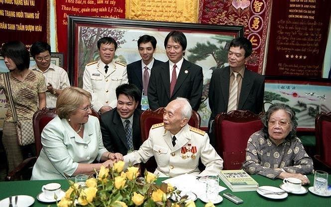 组图:武元甲大将——胡志明主席出色学生、越南民族传奇将领 hinh anh 1