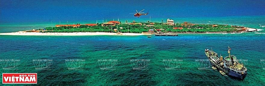 组图:简青山摄影师的越南海洋岛屿鸟瞰图 hinh anh 1