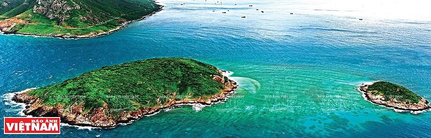 组图:简青山摄影师的越南海洋岛屿鸟瞰图 hinh anh 6