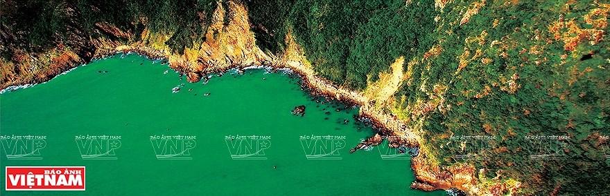 组图:简青山摄影师的越南海洋岛屿鸟瞰图 hinh anh 13