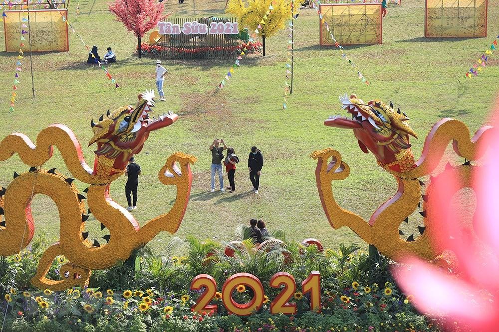 组图:来升龙皇城感受昔日越南春节氛围 hinh anh 2