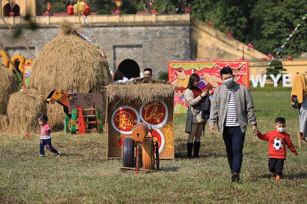 组图:来升龙皇城感受昔日越南春节氛围 hinh anh 5