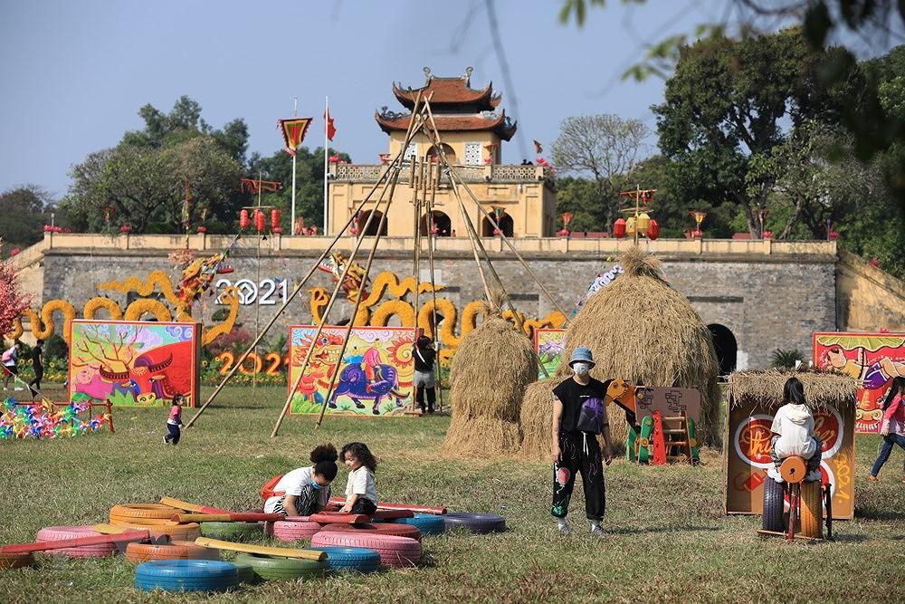 组图:来升龙皇城感受昔日越南春节氛围 hinh anh 6