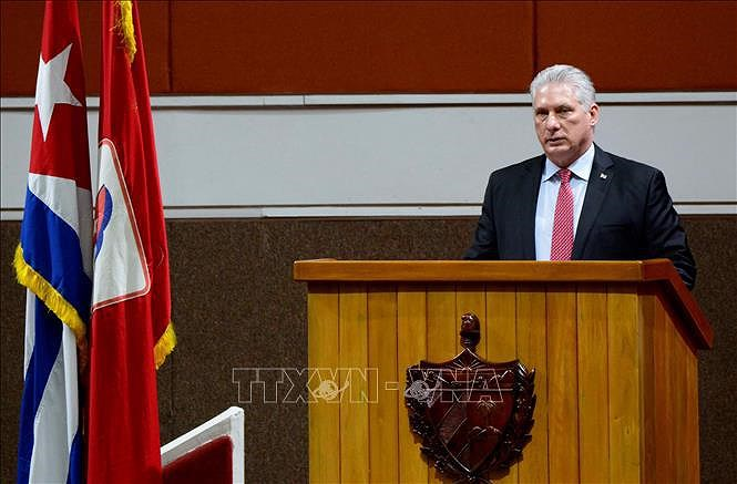 越南共产党领导向古巴共产党领导致贺电 hinh anh 1