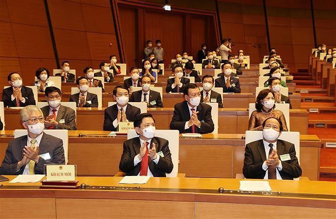 越共中央总书记阮富仲:不断提升人民最高代表机构的作用和地位 hinh anh 2