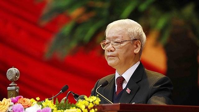 对越共中央总书记署名文章的心得体会:建设廉洁且全面强大的党和政治体系 hinh anh 1