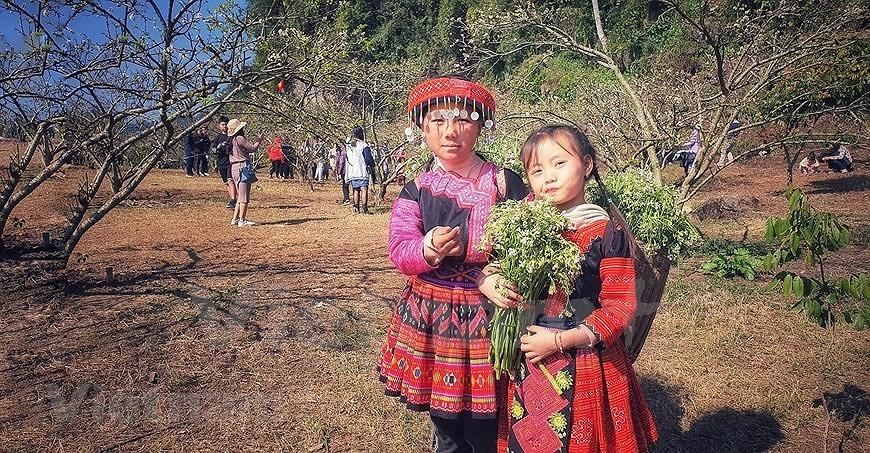 组图:西北山区孩子喜迎新春 hinh anh 6