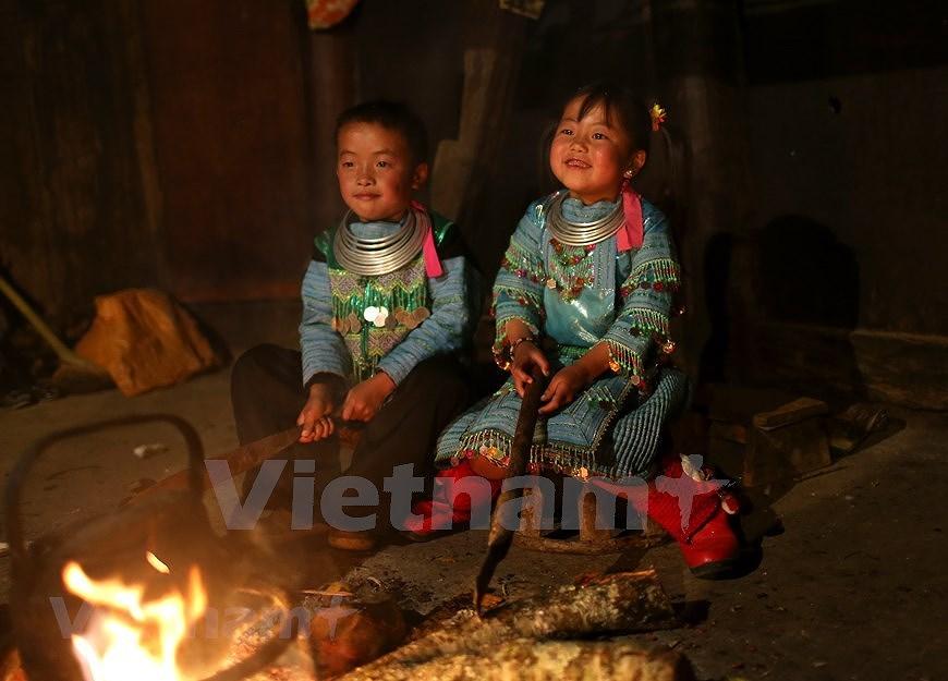 组图:西北山区孩子喜迎新春 hinh anh 1
