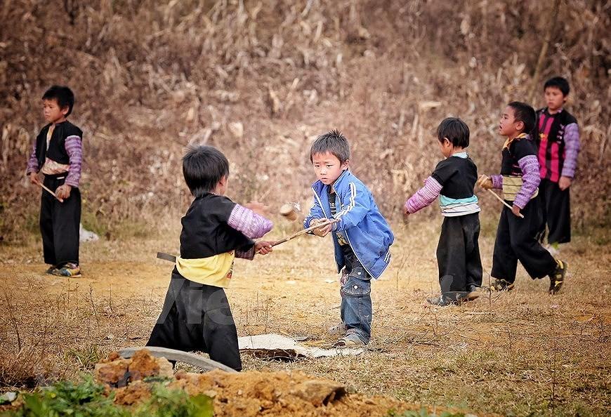 组图:西北山区孩子喜迎新春 hinh anh 3