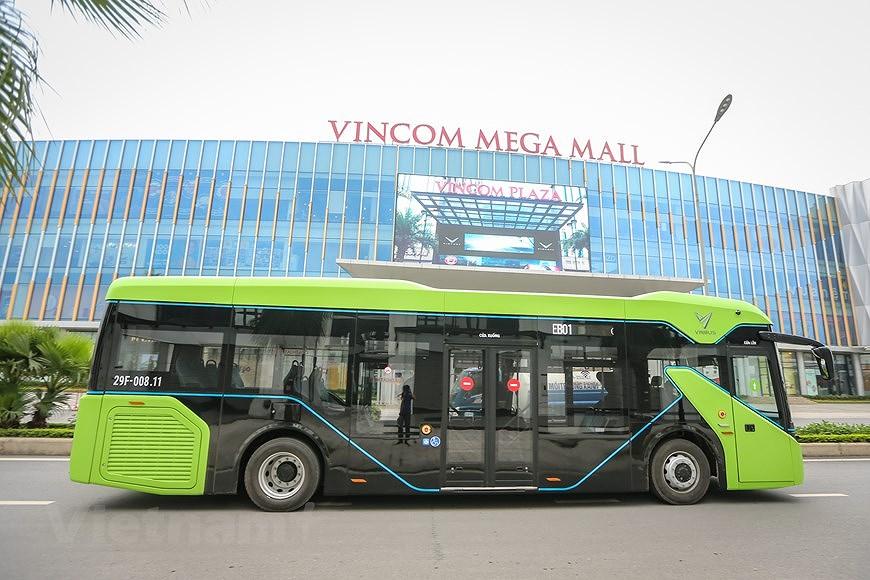 组图:VinBus开发的越南首个智能电动公交车投入运营 hinh anh 10
