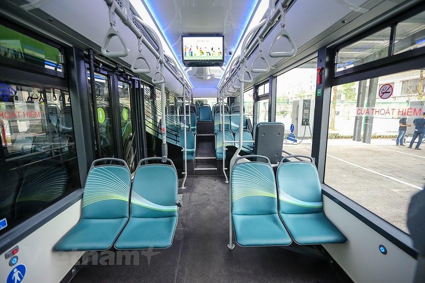 组图:VinBus开发的越南首个智能电动公交车投入运营 hinh anh 4