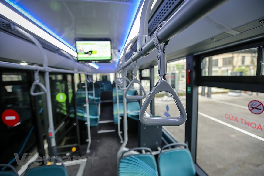 组图:VinBus开发的越南首个智能电动公交车投入运营 hinh anh 5