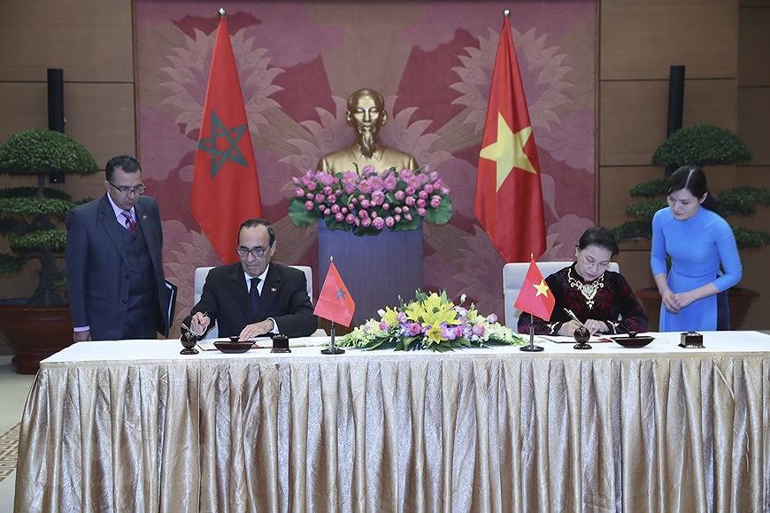 组图:越南与摩洛哥建交60周年:两国合作关系继续向前迈进 hinh anh 4