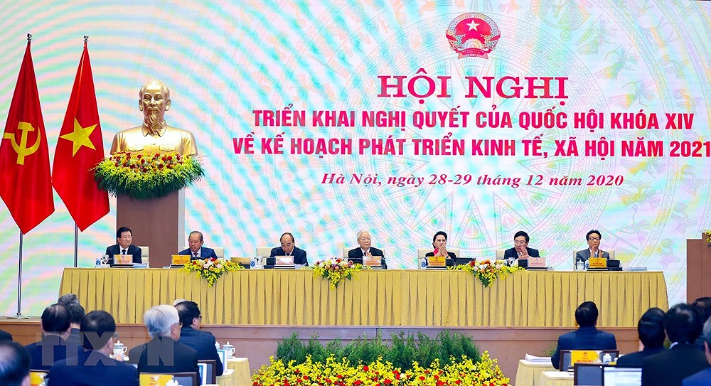 National conference on implementation of 14th NA's resolution hinh anh 2