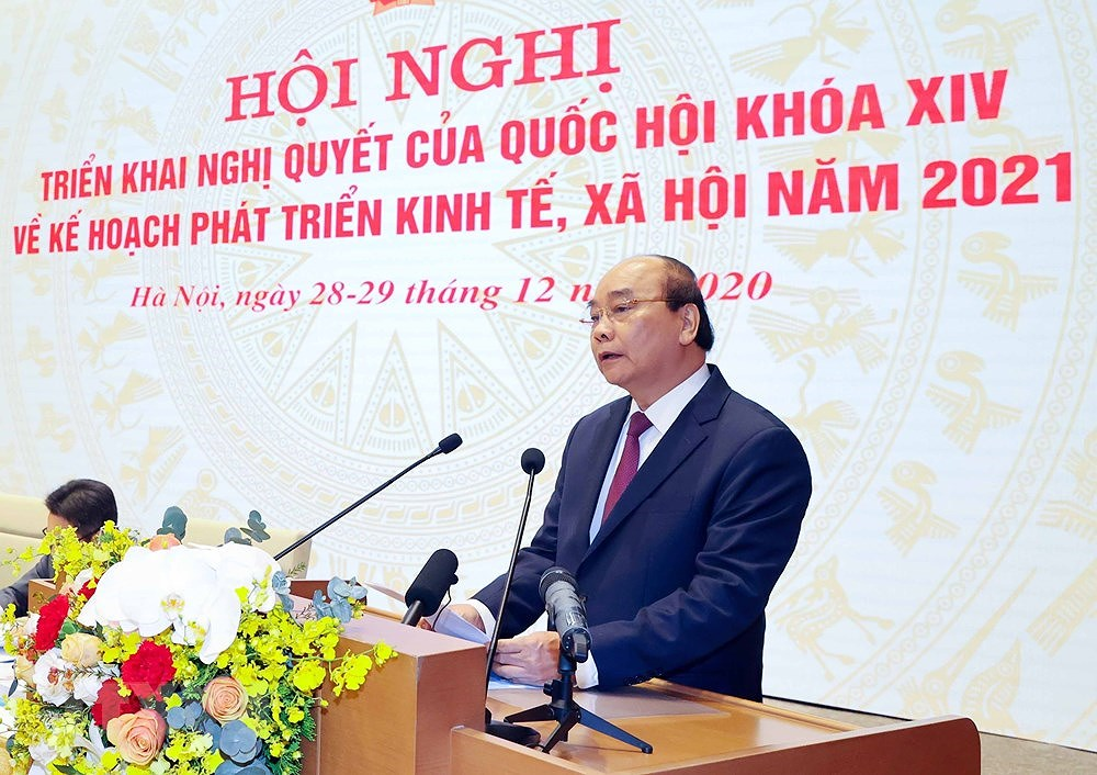 National conference on implementation of 14th NA's resolution hinh anh 3