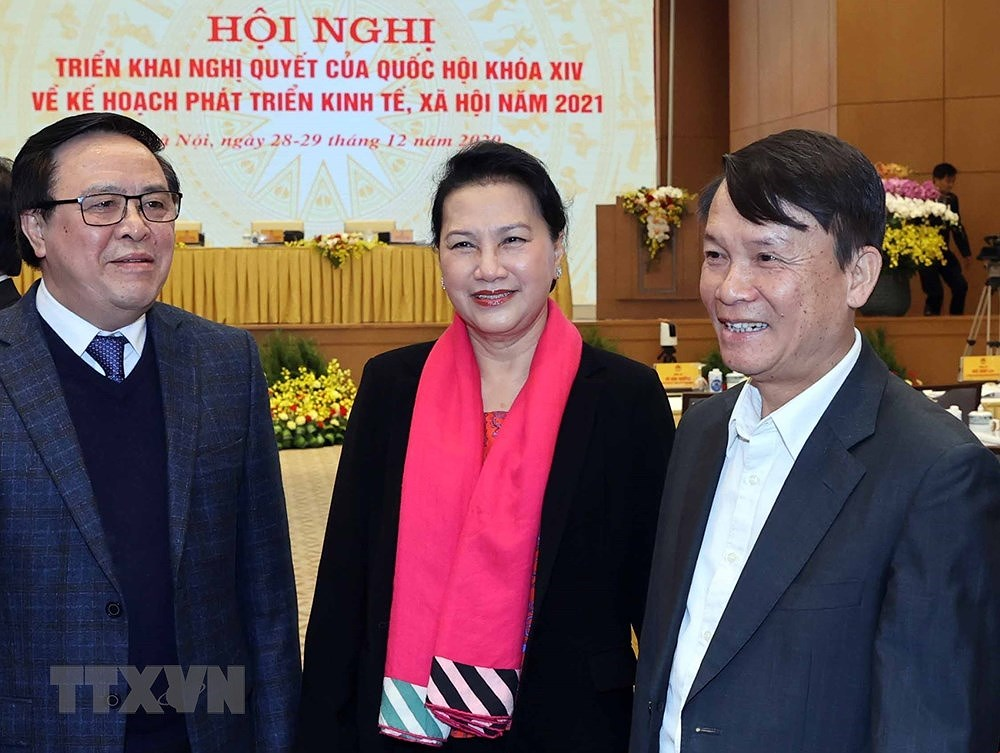 National conference on implementation of 14th NA's resolution hinh anh 5