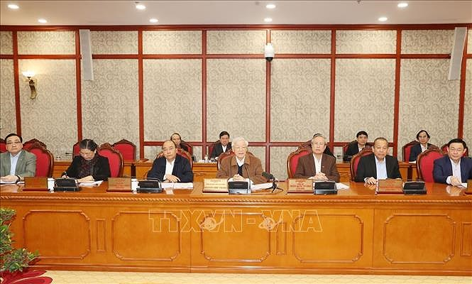 Party leadership decisive for successful COVID-19 fight hinh anh 2