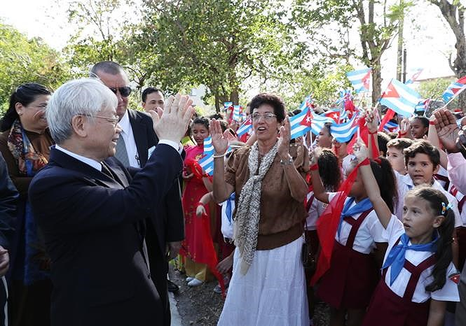 60 years of close relations between Vietnam and Cuba hinh anh 1