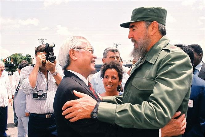 60 years of close relations between Vietnam and Cuba hinh anh 7