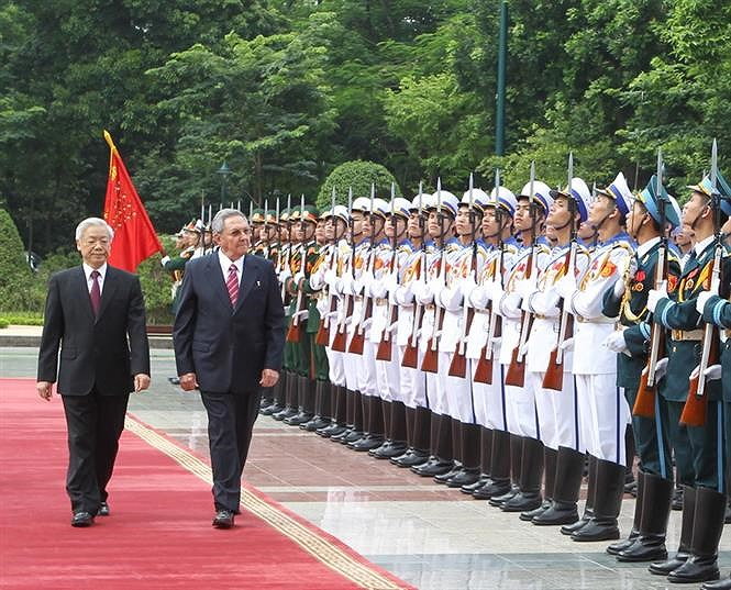 60 years of close relations between Vietnam and Cuba hinh anh 14