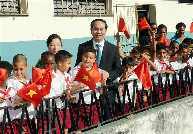 60 years of close relations between Vietnam and Cuba hinh anh 15