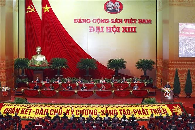 National Party Congress opens in Hanoi hinh anh 7