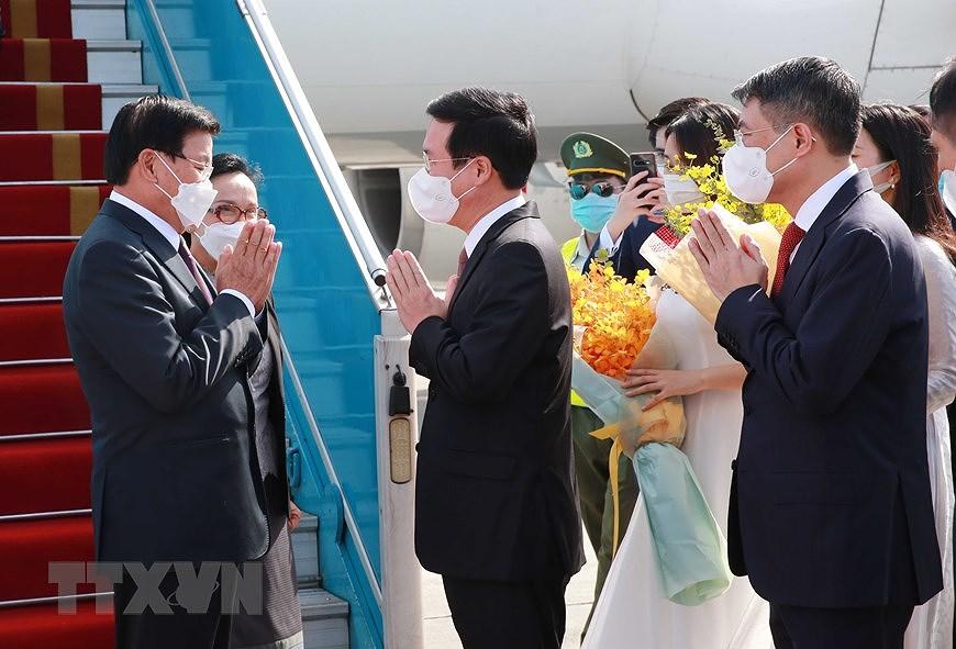 Nurturing Vietnam-Laos special relationship hinh anh 1