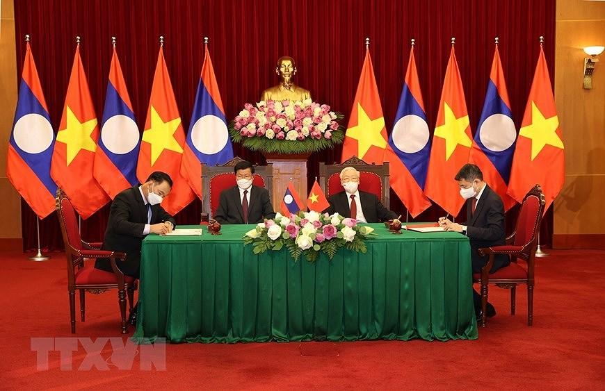 Nurturing Vietnam-Laos special relationship hinh anh 9