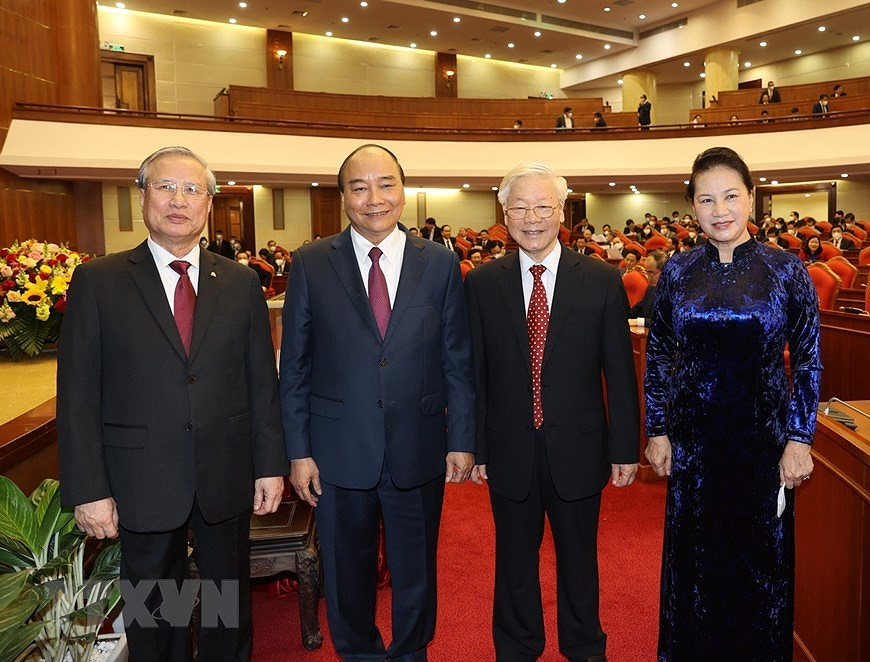 Party Central Committee's 14th meeting opens hinh anh 3