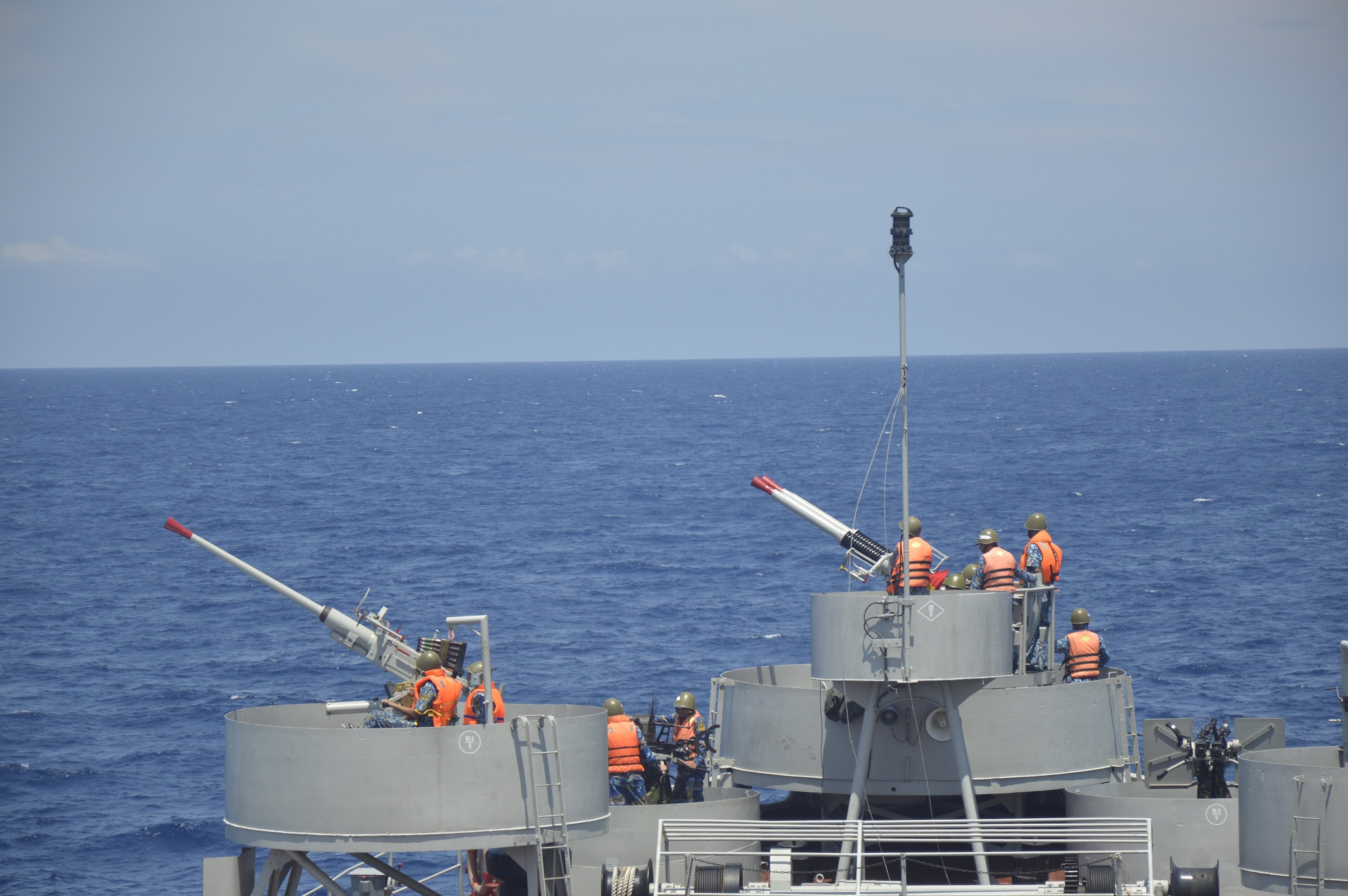 Naval Region 2 Command increases training hinh anh 1