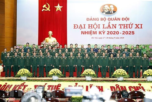 11th Congress of Army's Party Organisation closes hinh anh 1