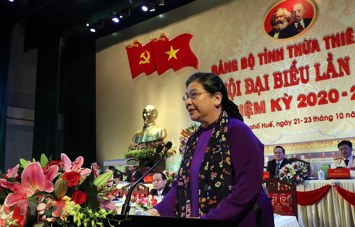 16th Party Congress of Thua Thien-Hue province opens hinh anh 1