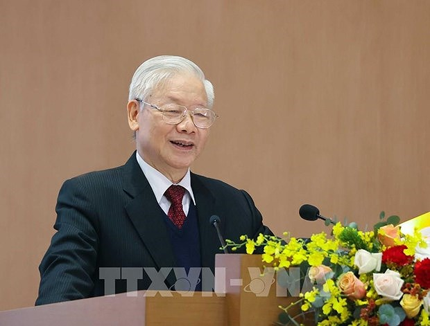 Vietnam among 10 nations with highest GDP growth in 2020: Top leader hinh anh 1