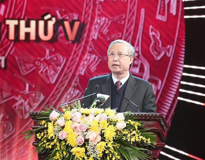 Winners of National Press Awards on Party building named hinh anh 3