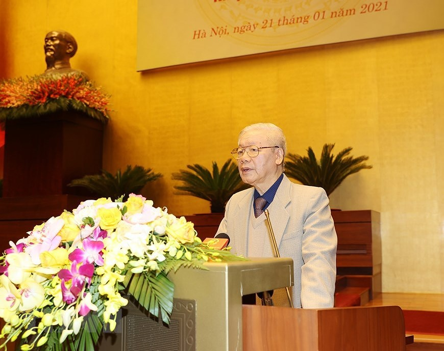 General election - A chance to exercise people's right to mastery: Top leader hinh anh 1