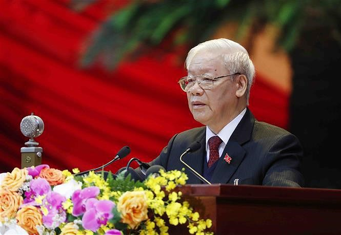 13th National Party Congress officially opens in Hanoi hinh anh 1
