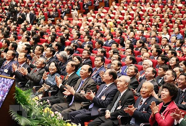 Opening of 13th National Party Congress a magnet to int'l media hinh anh 1
